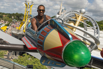 Anthony Mackie Actor Anthony Mackie Visits Walt Disney World Resort