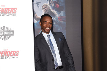 Anthony Mackie Premiere Of Marvel's 'Avengers: Age Of Ultron' - Arrivals