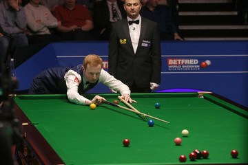 Anthony McGill World Snooker Championship - Day One