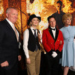 Anthony Michael Hall Costume Party Premiere Of