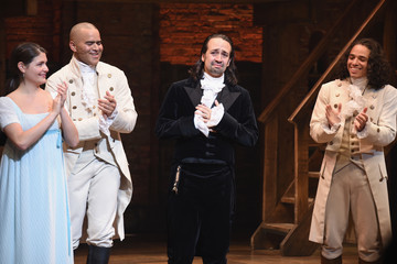 Anthony Ramos Lin-Manuel Miranda's Final Performance in 'Hamilton' on Broadway