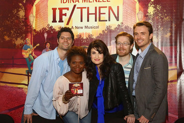 Anthony Rapp Lachanze 'If/Then' Broadway Cast CD Signing
