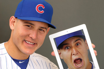Anthony Rizzo Chicago Cubs Photo Day