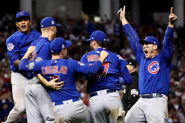 Anthony Rizzo World Series - Chicago Cubs v Cleveland Indians - Game Seven