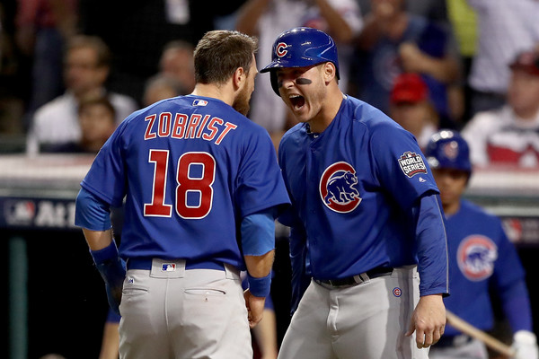 best sneakers fb511 a23d5 Anthony Rizzo Photos Photos - World Series - Chicago Cubs v ...