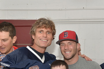 Anthony Shriver Tom Brady Football Challenge For The Best Buddies Challenge: Hyannis Port
