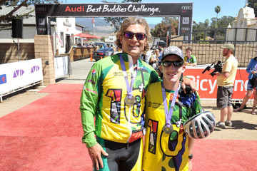 Anthony Shriver Best Buddies Challenge: Hearst Castle Ride Finish: Hearst Ranch Beach, San Simeon
