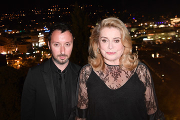 Anthony Vaccarello Kering and Cannes Festival Official Dinner : Cocktail at the 70th Cannes Film Festival
