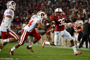 Anthony Wilkerson Rose Bowl Game presented by Vizio - Wisconsin v Stanford