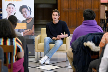 Antoni Porowski Queer Eye's Antoni Porowski Speaks With LGBTQ Student Leaders In NYC