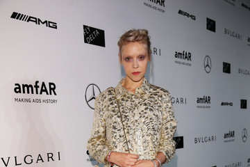 Antonia Campbell Hughes amfAR Milano 2014 - Arrivals - Milan Fashion Week Womenswear Spring/Summer 2015