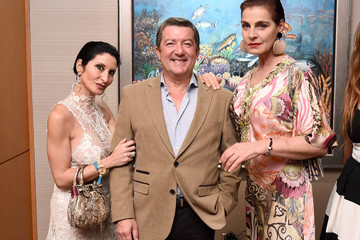 Antonia Dellatte Underwater Dreams to Life in Color - Art Exhibit Featuring Antonio Dominguez De Haro and Romero Britto at Four Seasons Hotel Miami