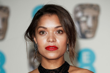 Antonia Thomas EE British Academy Film Awards After Party Dinner - Red Carpet Arrivals
