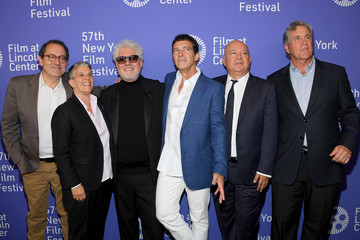 Antonio Banderas Michael Barker 57th New York Film Festival - 'Pain And Glory' Arrivals