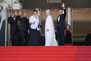"""Apichatpong Weerasethakul """"Memoria"""" Red Carpet - The 74th Annual Cannes Film Festival"""