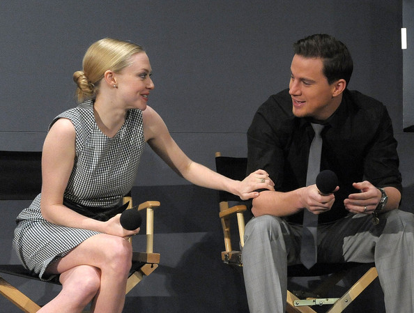 channing tatum and amanda seyfried. Amanda Seyfried Actors (L-R)