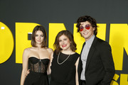 "(L-R) Ella Hunt, Alena Smith, and Adrian Blake Enscoe attend Apple's global premiere of ""The Morning Show"" at Josie Robertson Plaza and David Geffen Hall, Lincoln Center for the Performing Arts on October 28, 2019 in New York City. ""The Morning Show"" debuts November 1 on Apple TV+, available on the Apple TV app. (Photo by Brian Ach/Getty Images for Apple TV+)"