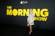 """Candace Bushnell attends Apple's global premiere of """"The Morning Show"""" at Josie Robertson Plaza and David Geffen Hall, Lincoln Center for the Performing Arts on October 28, 2019 in New York City. """"The Morning Show"""" debuts November 1 on Apple TV+, available on the Apple TV app."""