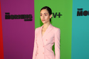 """Emmy Rossum attends Apple TV+'s """"The Morning Show"""" World Premiere at David Geffen Hall on October 28, 2019 in New York City."""