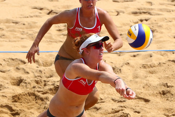 April Ross FIVB Beach Volleyball World Tour Qinzhou Open - Day 2