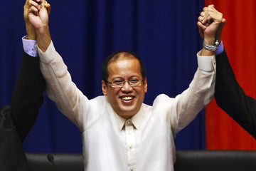 Benigno Noynoy Aquino Aquino Proclaimed 15th President Of The Philippines