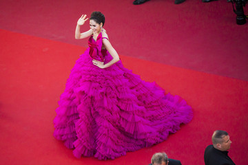 Araya Hargate '120 Beats Per Minute (120 Battements Par Minute)' Red Carpet Arrivals - The 70th Annual Cannes Film Festival