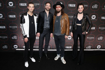 Arejay Hale Warner Music Pre-Grammy Party - Red Carpet