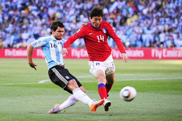 Lee Jung-Soo Argentina v South Korea: Group B - 2010 FIFA World Cup