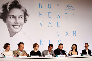 Ariane Labed Angeliki Papoulia 'The Lobster' - Press Conference - The 68th Annual Cannes Film Festival