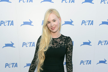 Ariane Sommer PETA's 35th Anniversary Party - Red Carpet