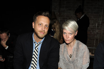Ariel Foxman MBFW: Front Row at Fallon