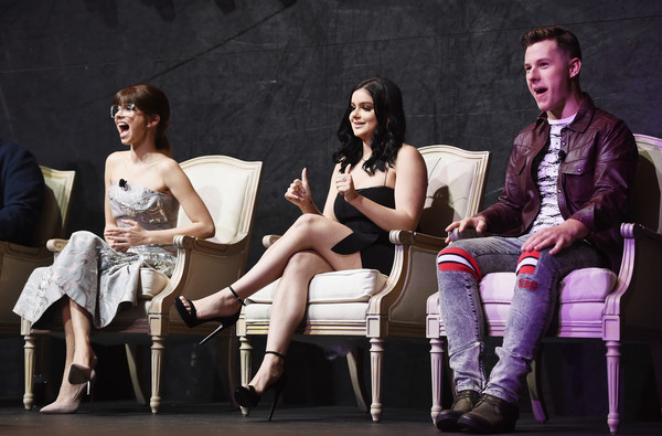FYC Event For ABC's 'Modern Family' - Inside [modern family,performance,event,performing arts,heater,stage,fashion,acting,fun,musical,drama,actors,ariel winter,nolan gould,sarah hyland,l-r,abc,fyc,event,fyc event]