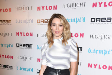 Arielle Vandenberg NYLON's It Girl Party at the Highlight Room at Dream Hollywood