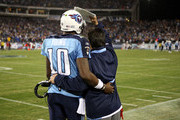 Vince Young and Jeff Fisher Photos Photo