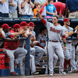 Chipper Jones Martin Prado Photos