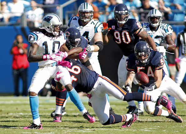 Armanti+Edwards+Chicago+Bears+v+Carolina