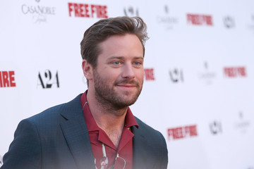 Armie Hammer Premiere of A24's 'Free Fire' - Arrivals