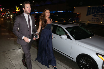 Armie Hammer Genesis G90 Arrivals and Atmosphere at GQ's Men of the Year Event