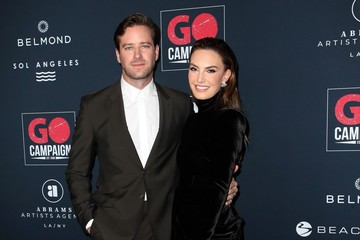Armie Hammer Elizabeth Chambers Go Campaign's 13th Annual Go Gala - Arrivals