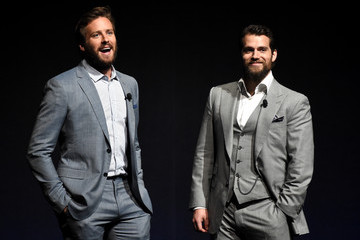 Armie Hammer Henry Cavill CinemaCon 2015 - Warner Bros. Pictures Invites You To 'The Big Picture,' An Exclusive Presentation Highlighting The Summer Of 2015 And Beyond