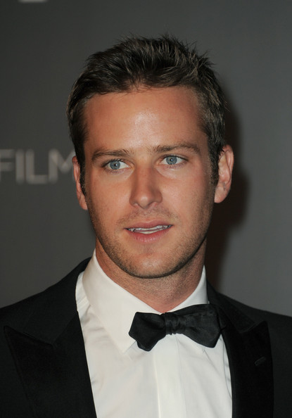 Armie Hammer Actor Armie Hammer arrives at LACMA 2012 Art   Film Gala    Armie Hammer
