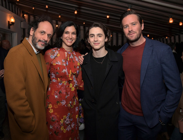 Vanity Fair, Barneys New York and Sony Pictures Classics Celebrate 'Call Me By Your Name' [event,fashion,fun,formal wear,fashion design,radhika jones,timothee chalamet,luca guadagnino,armie hammer,call me by your name,l-r,vanity fair,barneys new york,sony pictures classics,celebration]