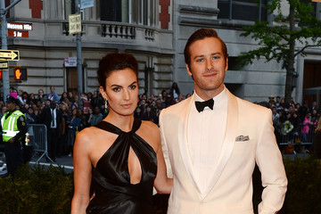 Armie Hammer Red Carpet Arrivals at the Met Gala