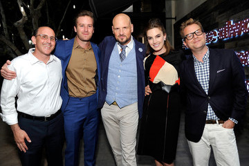 Armie Hammer Feed Supper with Lauren Bush Lauren X Nathan Turner at The Village at Topanga