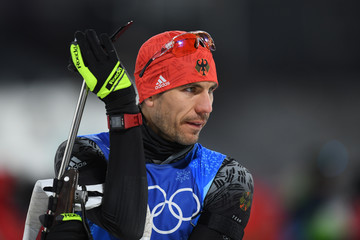 Arnd Peiffer Biathlon - Winter Olympics Day 11