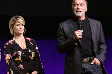 Arnold Schwarzenegger CinemaCon 2019 - Paramount Pictures Invites You To An Exclusive Presentation Highlighting Its Upcoming Slate