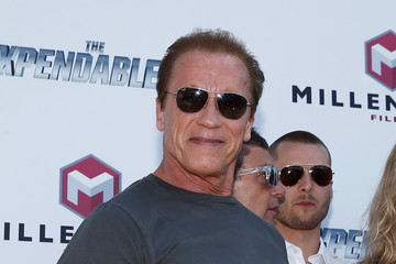 "Arnold Schwarzenegger ""The Expendables 3"" Photocall - The 67th Annual Cannes Film Festival"