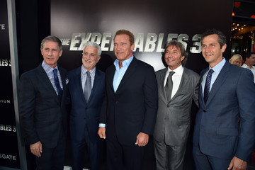 Arnold Schwarzenegger 'The Expendables 3' Premieres in Hollywood — Part 2