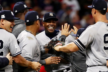 Aroldis Chapman Divisional Round - New York Yankees v Cleveland Indians - Game Five