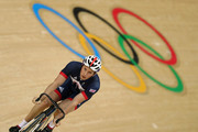 Jason Kenny of Great Britain and Team GB in action during training at the Rio Olympic Velodrome on August 9, 2016 in Rio de Janeiro, Brazil.